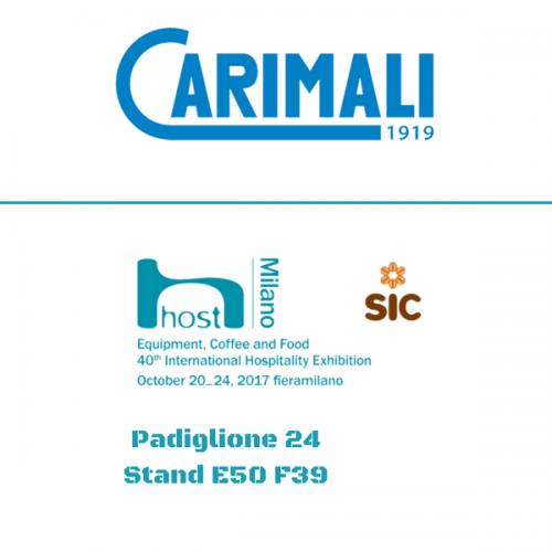 Carimali a Host. Pad. 24 – Stand E50 F39