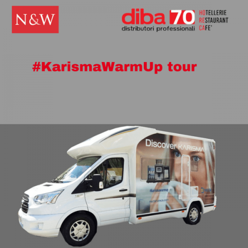 Con Necta e DIBA 70 torna il #KarismaWarmUp Tour