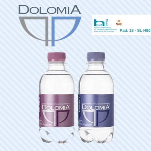 Anche Dolomia lancia l'acqua in pet versione mini