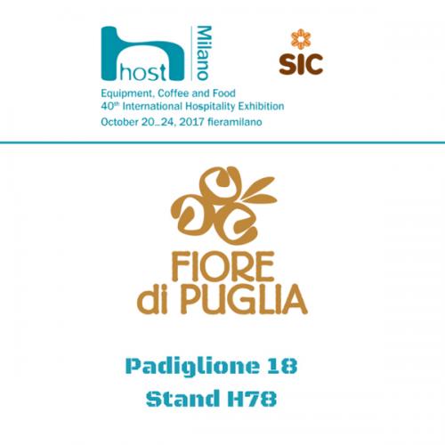 Fiore di Puglia a Host. Pad. 18 – Stand H78