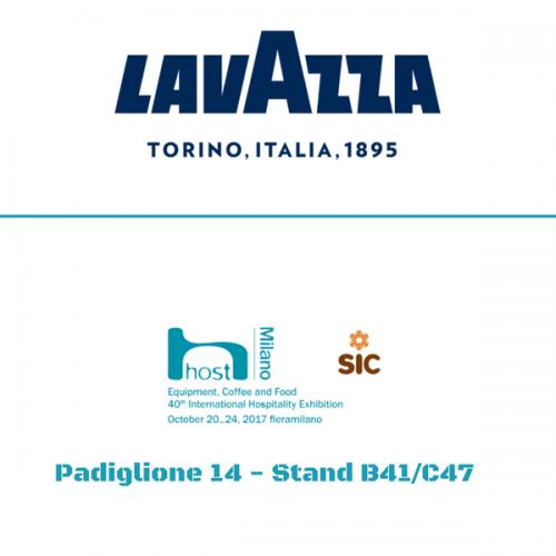 Lavazza a Host. Padiglione 14 – Stand B41/C47