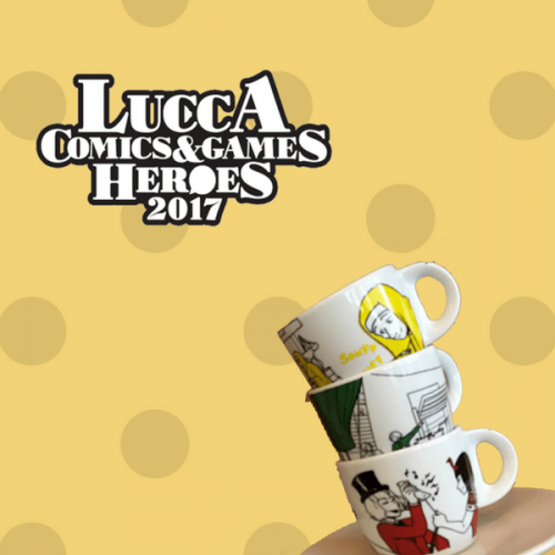 Il caffè protagonista al Lucca Comics 2017