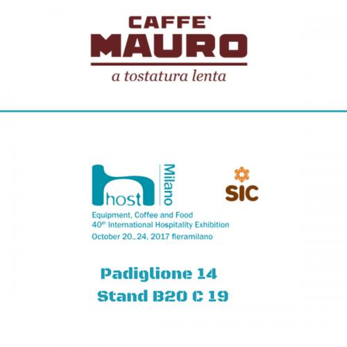 Caffè Mauro a Host. Pad.14 – Stand B20 C 19