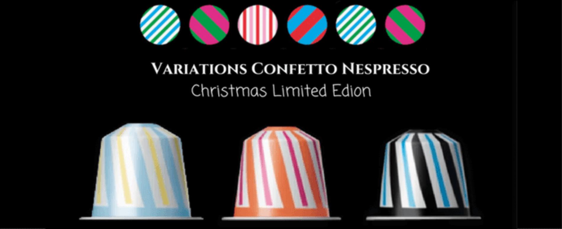 Nespresso è pronta per Natale con la Confetto limited edition