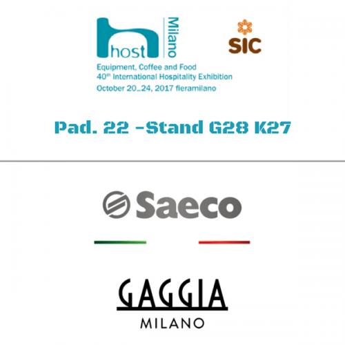 SaGa Coffee a Host. Pad. 22 – Stand G28/K27