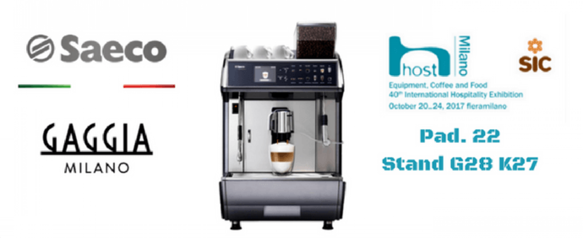 SaGa Coffee a Host. Pad. 22 – Stand G28/K27
