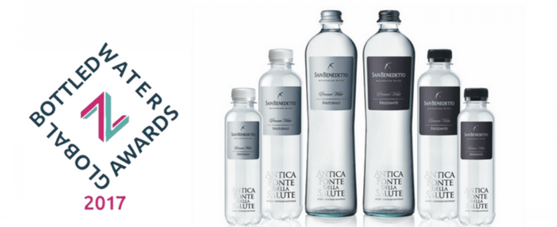 San Benedetto premiata ai Global Bottled Water Awards