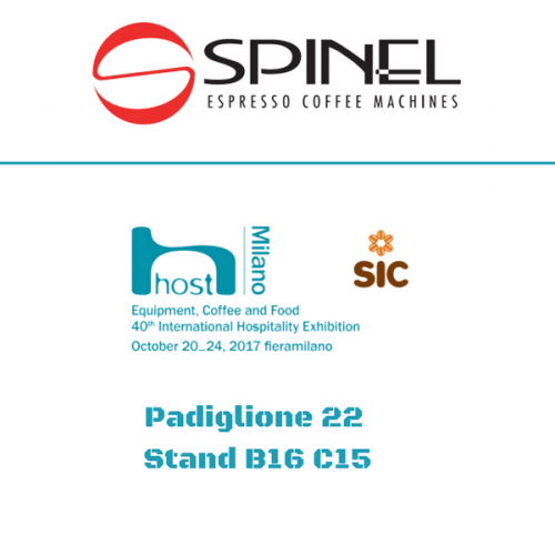 Spinel a Host. Padiglione 22 – Stand B16 C15
