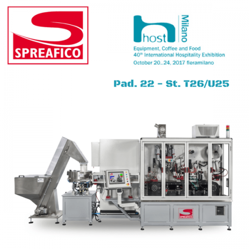 Spreafico a Host. Pad. 22 – Stand T26/U25