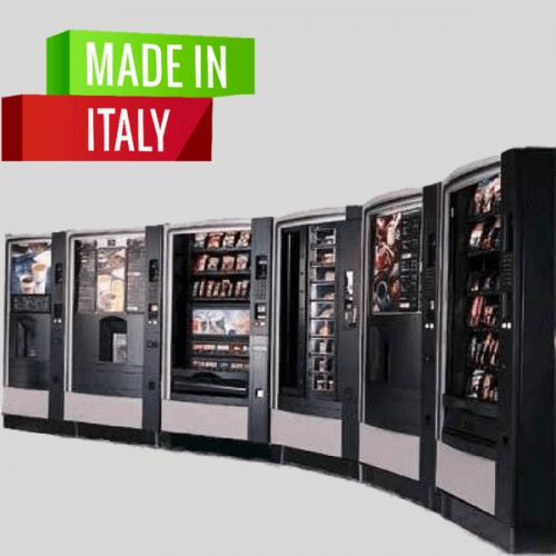 In Italia cresce l'export di distributori automatici