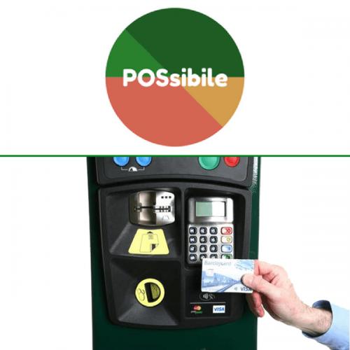 Vicenza inaugura POSsibile nei suoi parcheggi automatici