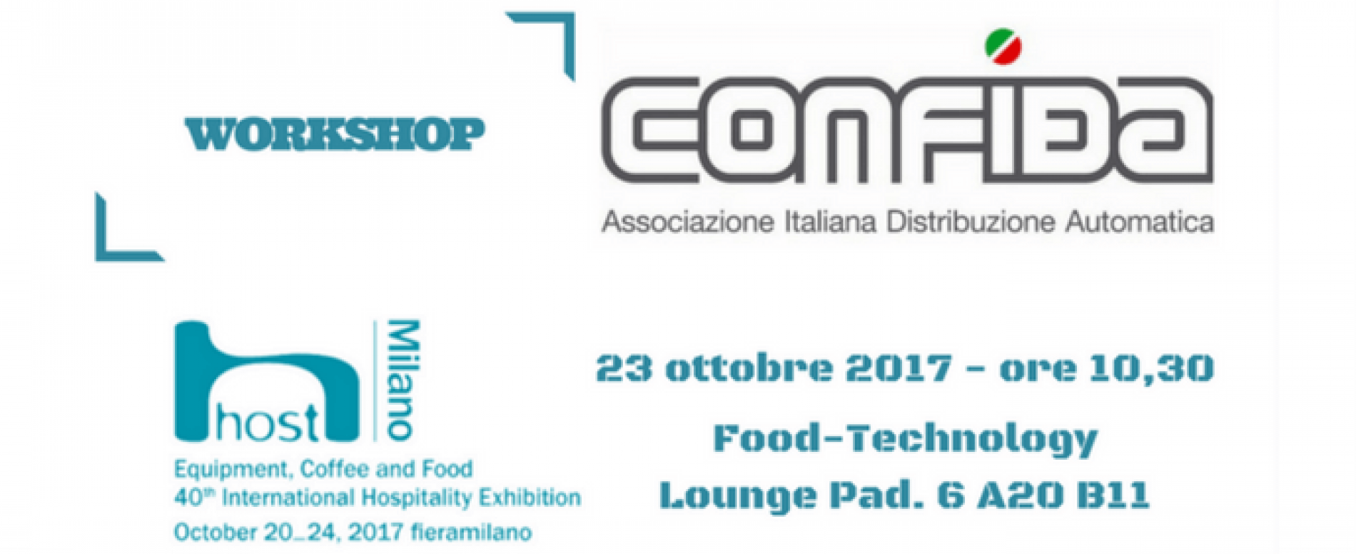 Workshop CONFIDA a Host sulle nuove tecnologie del Vending