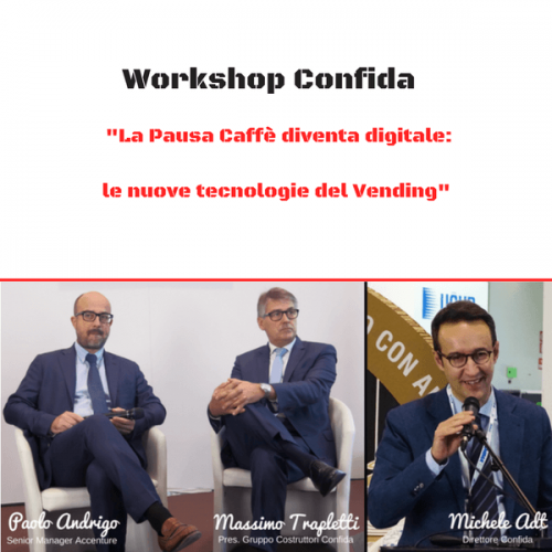 Workshop CONFIDA a HOST. Le nuove tecnologie nel Vending