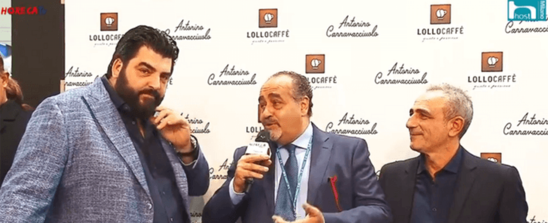 Con Lollo Caffè e #antoninochef parte HorecaTv.it