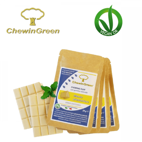 ChewinGreen, il chewing gum VeganOk