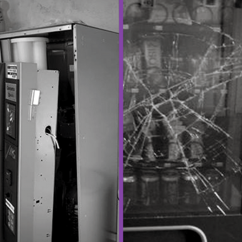 La rassegnazione dei gestori di distributori automatici vittime di furti