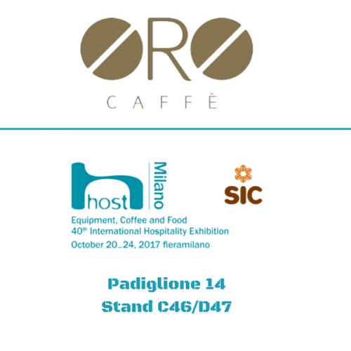 Oro Caffè a Host. Pad. 14 – Stand C46/D47