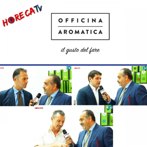 HorecaTv.it. Intervista ad Host allo stand Officina Aromatica