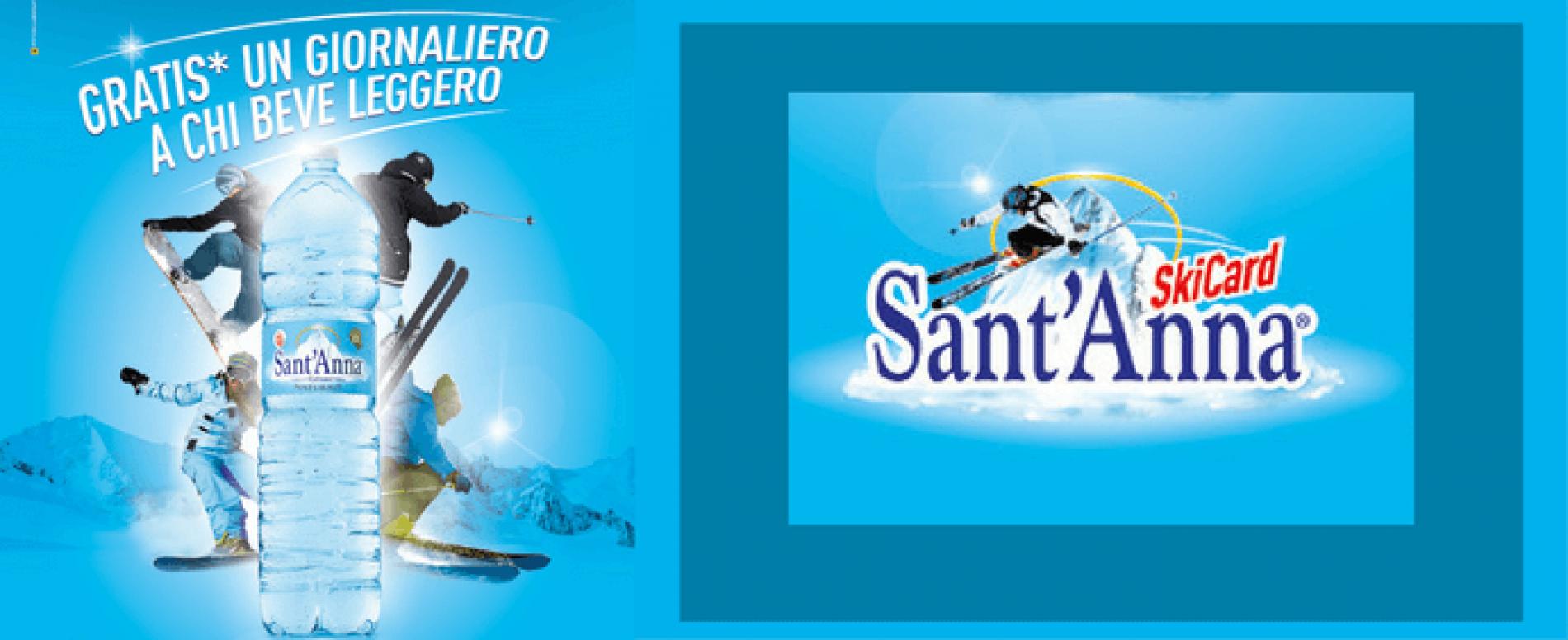 Scia a Cervinia con Sant'Anna Ski Card