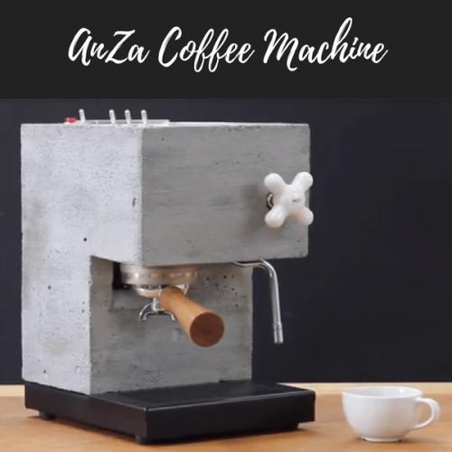 Arriva AnZa, la macchina da caffè indistruttibile
