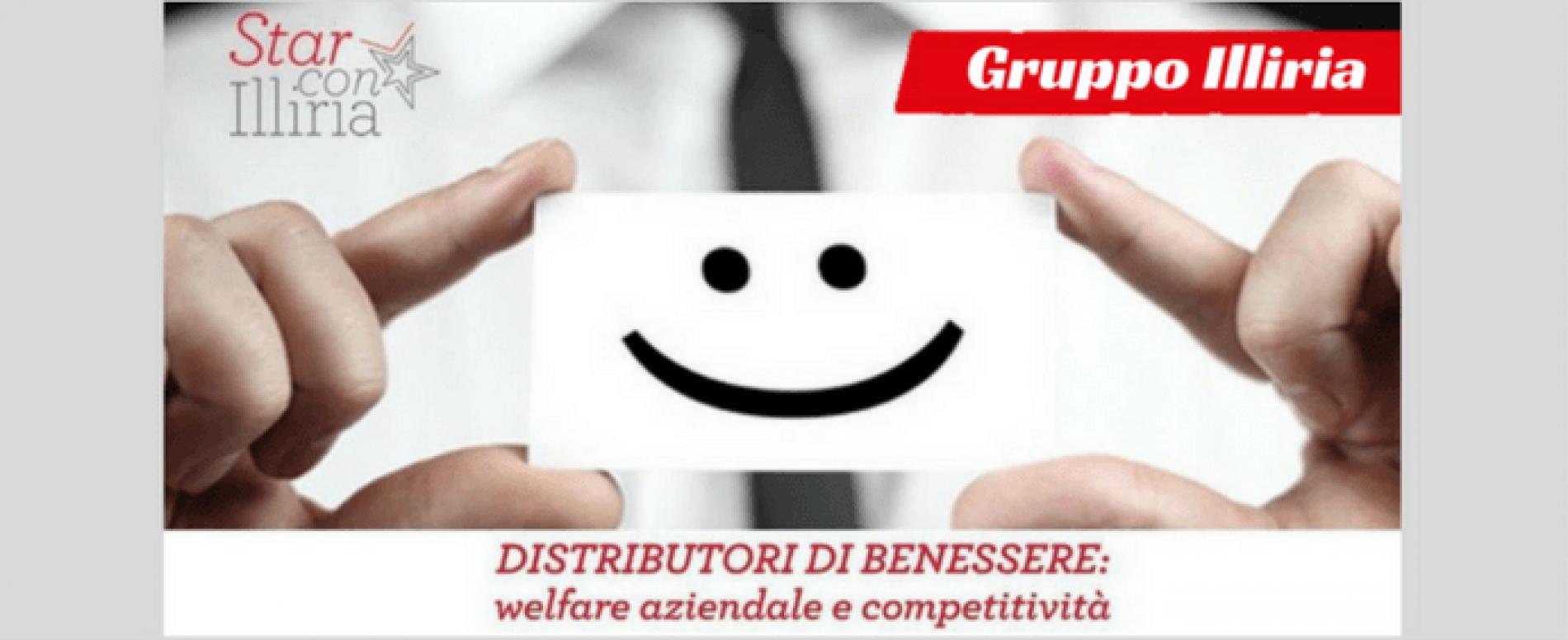 Con la chiavetta di Gruppo Illiria cresce il welfare aziendale
