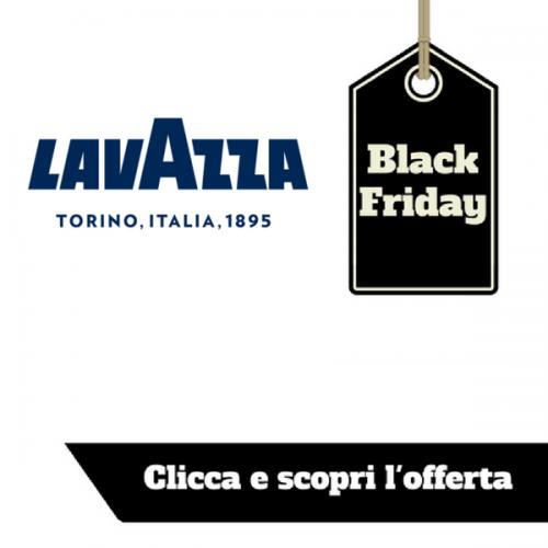 Il Black Friday di Lavazza non è finito! Minù in offerta anche oggi!