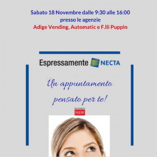 """Espressamente Necta"" nuova tappa a Padova col tour Porte Aperte"