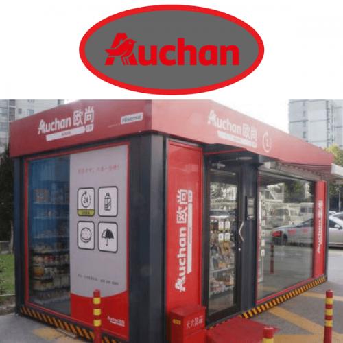 Con Auchan Minute il retail si fa automatico