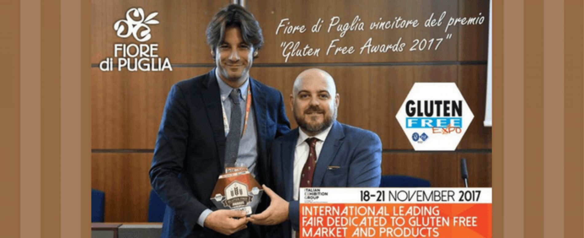 Fiore di Puglia trionfa ai Gluten Free Awards 2017