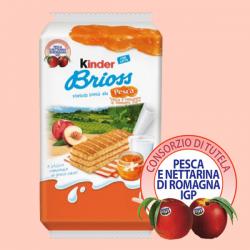 Kinder Brioss Ferrero alla Pesca e Nettarina di Romagna Igp