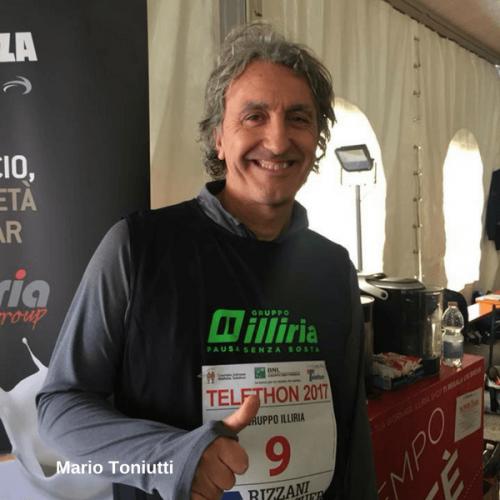 Gruppo Illiria. Caffè e bibite omaggio ai runners di Telethon