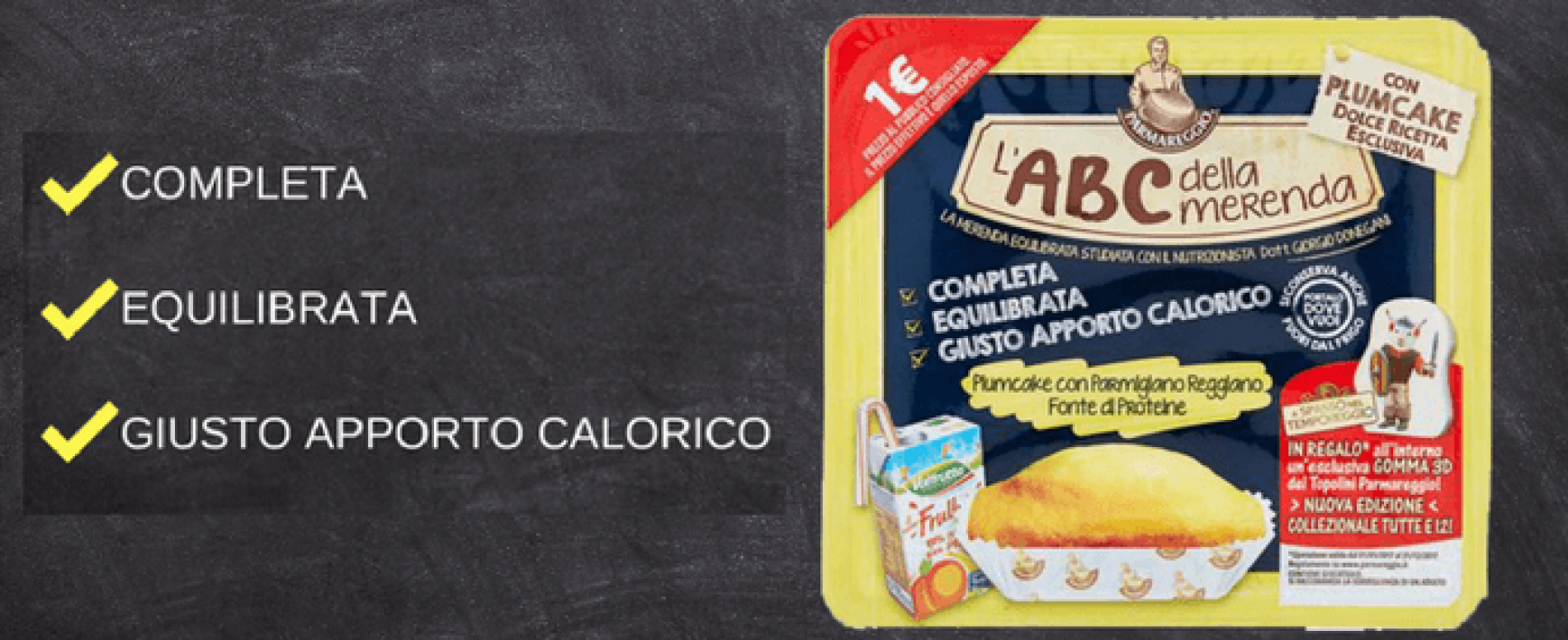 Da Parmareggio è arrivato l'ABC della Merenda dolce
