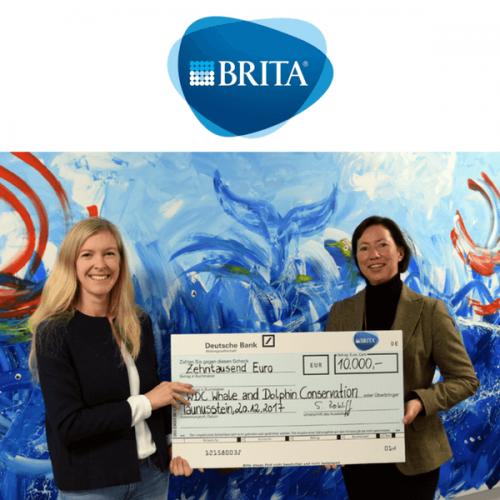 Il Gruppo BRITA rinnova il supporto all'organizzazione WDC