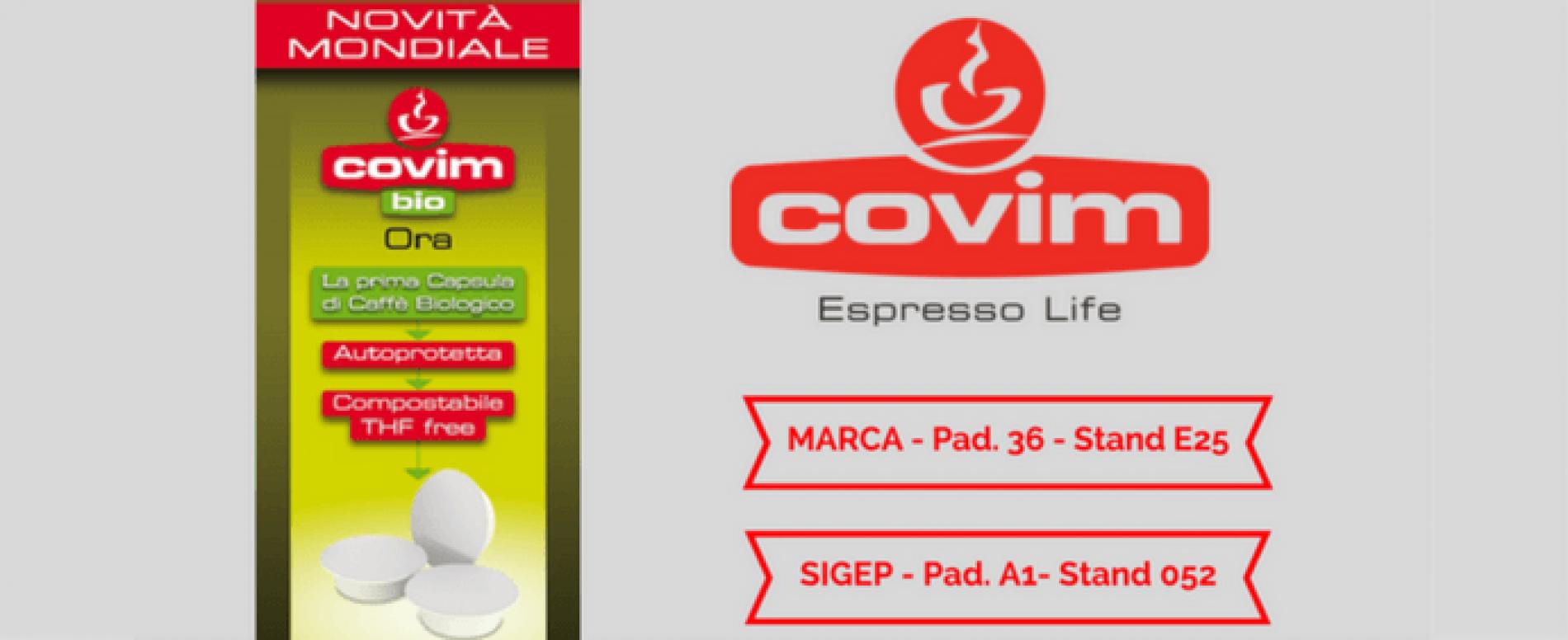 Covim a MARCA e SIGEP con la prima capsula compostabile autoprotetta