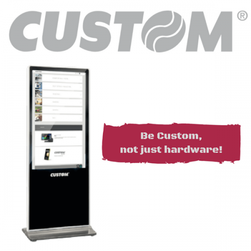 Be Custom, not just hardware!