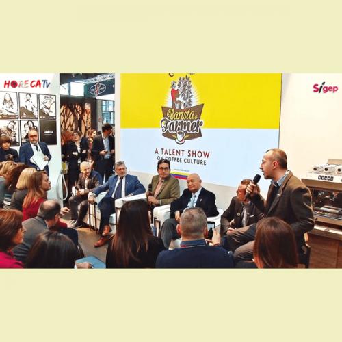HorecaTv.it. Presentazione al Sigep di Barista & Farmer allo stand Lavazza