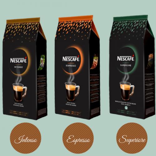 Nescafè entra nel segmento del caffè in grani