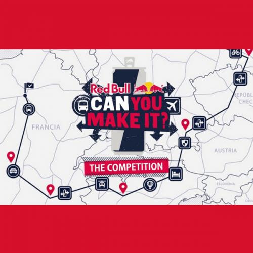 Attraversare l'Europa a suon di Red Bull? You can make it!