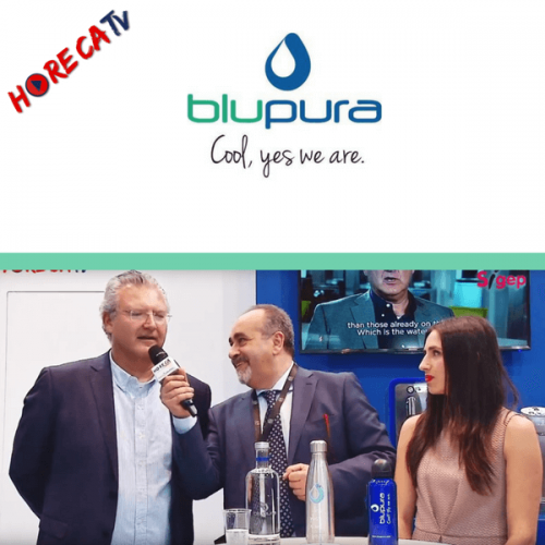 HorecaTv.it. Intervista allo stand Blupura con L. Costantini e D. Screpanti