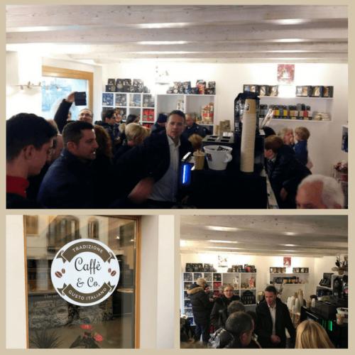 Inaugurato il primo punto vendita Caffè & Co.