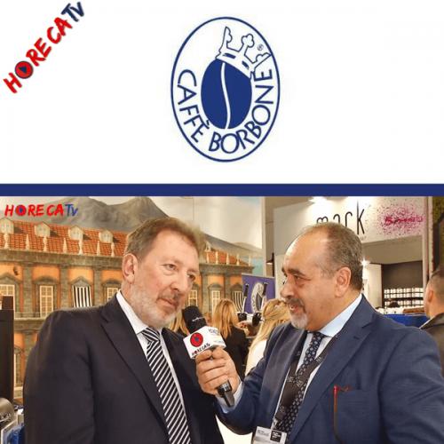 HorecaTv.it. Intervista a Sigep con F. Di Santo di L'Aromatika – Caffè Borbone