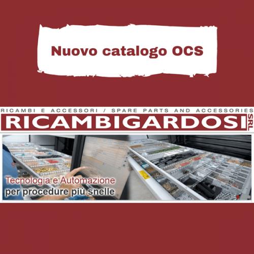 È online il nuovo catalogo OCS di Ricambi Gardosi