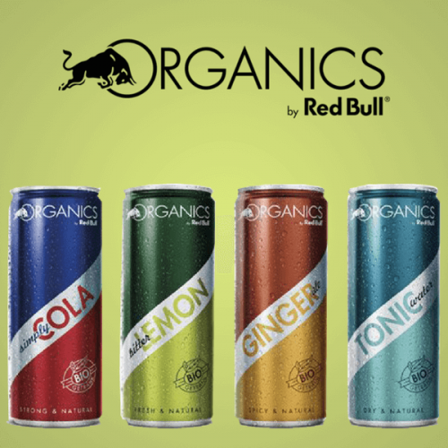 Red Bull lancia la gamma biologica Organics by Red Bull