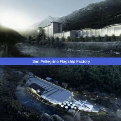 Partono a luglio i lavori della Flagship Factory San Pellegrino