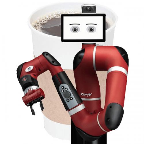 Si chiama Sawyer, è un robot e fa il barista