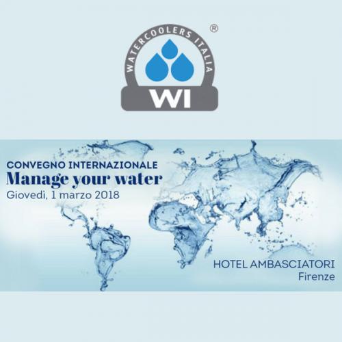 A Firenze un convegno internazionale sul mondo dell'acqua