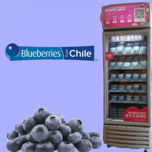 Tutti i benefici dei mirtilli del Cile nelle vending machine