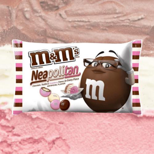 M&M's Neapolitan: cioccolato, vaniglia e fragola nell'edizione limitata