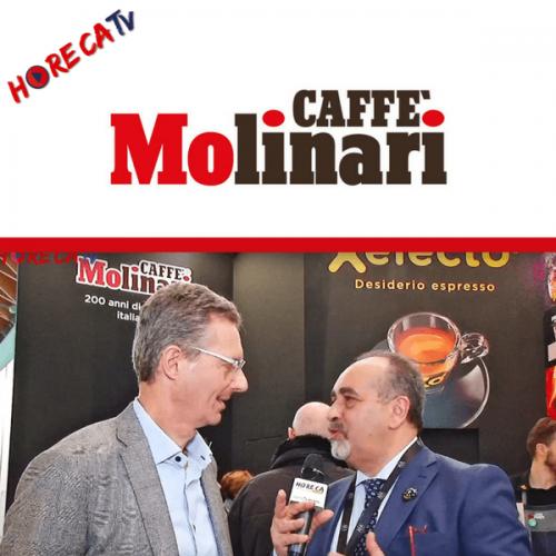 HorecaTv.it. Intervista a Sigep con Giuseppe Molinari di Caffè Molinari