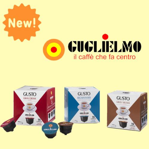 Caffè Guglielmo lancia la gamma compatibile Dolce Gusto*